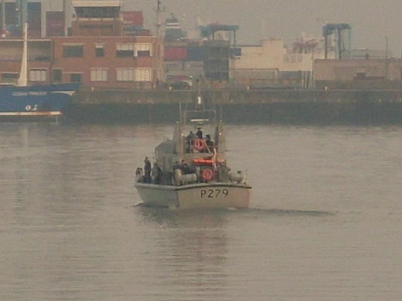 patrouilleurs de la Royal Navy en visite à Ostende Sl371216