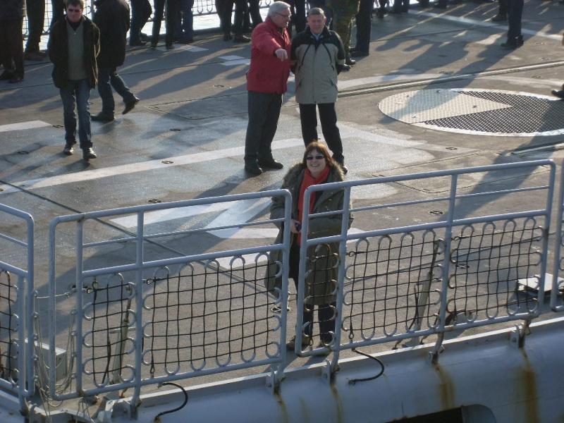 Journée des famille et départ pour Den Helder  Sl373916
