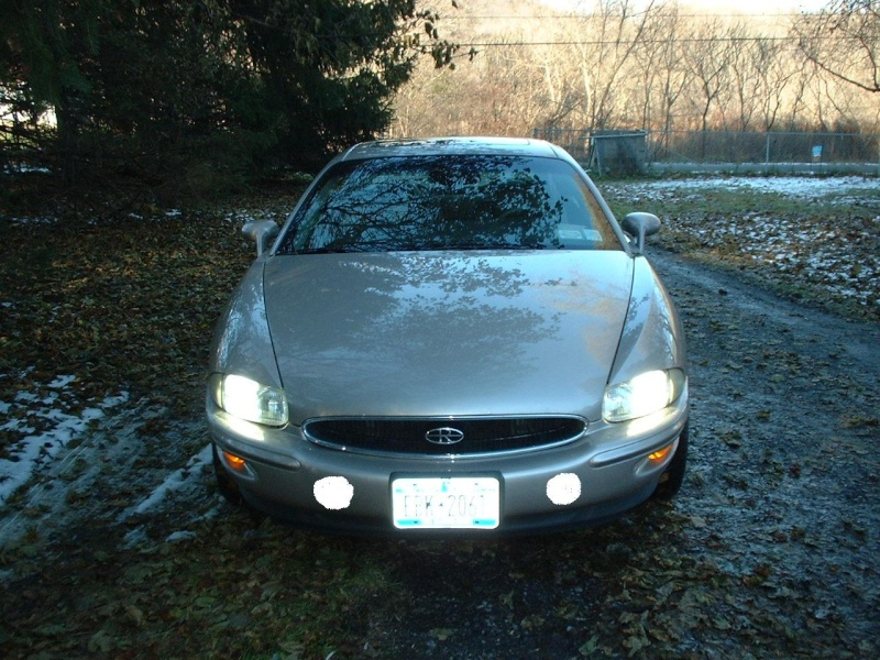 Driving lights in bumper Dscf0012