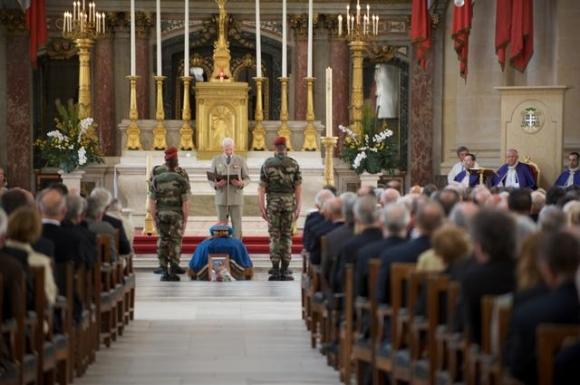 les cérémonies en hommage au général Marcel BIGEARD 10422012