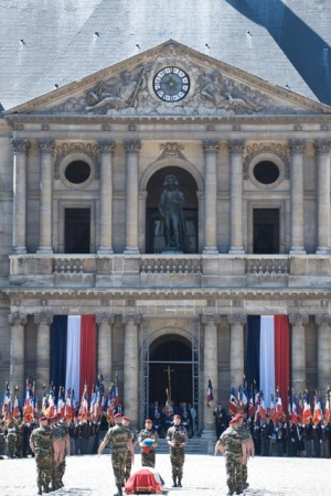 les cérémonies en hommage au général Marcel BIGEARD 10422014