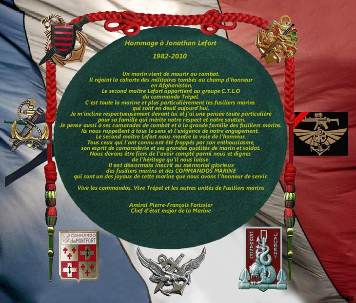 LEFORT Jonathan second-maître commando Trépel en Afghanistan 26 décembre 2010 1_foru11