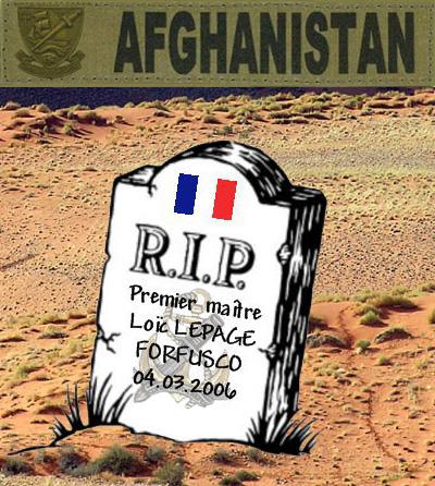 LE PAGE Loïc - Maître Principal fusilier marin commando - mort au combat le 4 mars 2006 en Afghanistan 1_insi10
