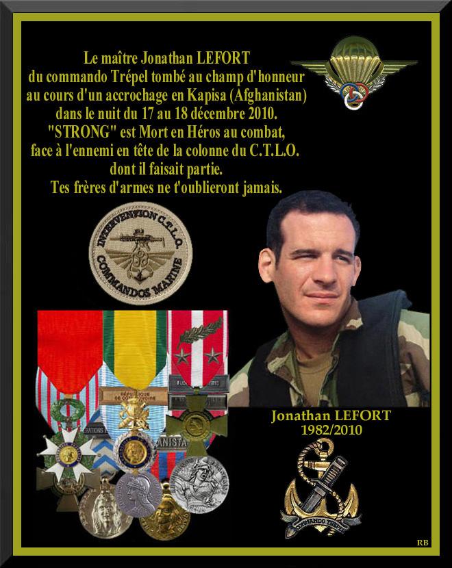 LEFORT Jonathan second-maître commando Trépel en Afghanistan 26 décembre 2010 S_120010