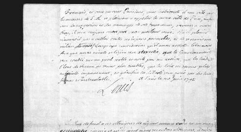 Correspondance et écrits du Roi Louis XVI - Page 2 F9502910