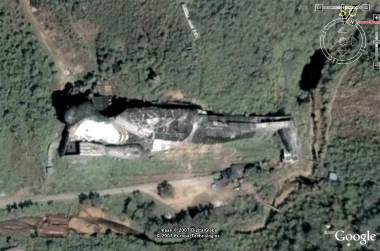Les statues de Bouddha découvertes dans Google Earth Winsei10