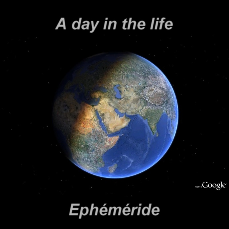 "Ephéméride ""a day in the life"" 112"