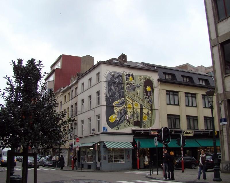 Les parcours BD de Bruxelles, Laeken et Anvers - Page 3 54957410