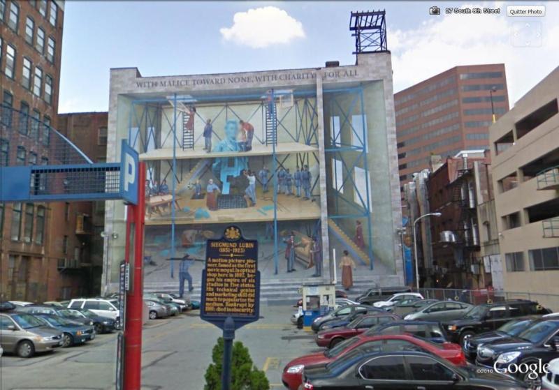 STREETVIEW : les fresques murales de Philadelphie  - Page 4 A_peop10