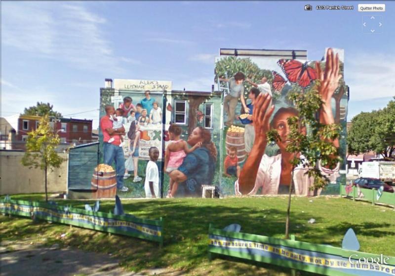 STREETVIEW : les fresques murales de Philadelphie  - Page 4 Alexas10
