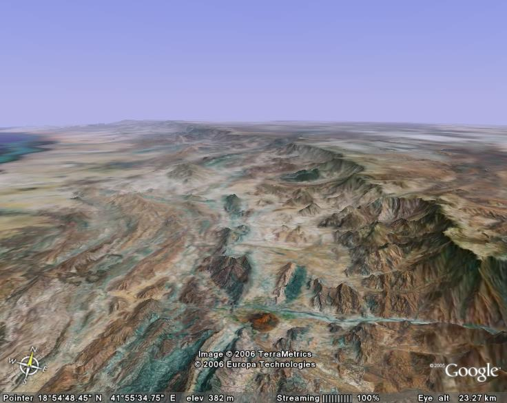 Google Earth... il y a cinq ans Arabie12