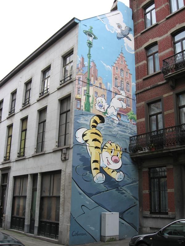 Les parcours BD de Bruxelles, Laeken et Anvers - Page 3 Billyt10