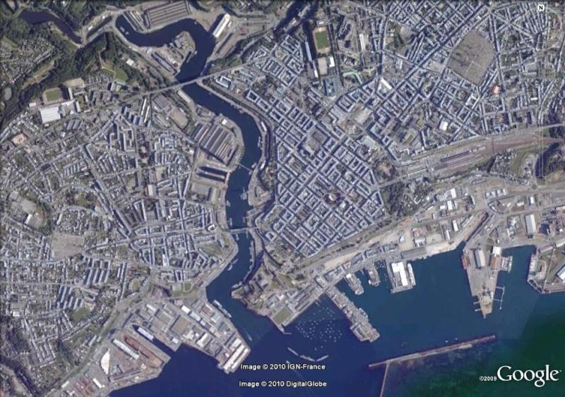Images satellites de quatre villes francaises pendant la deuxième guerre mondiale !!! Brest210