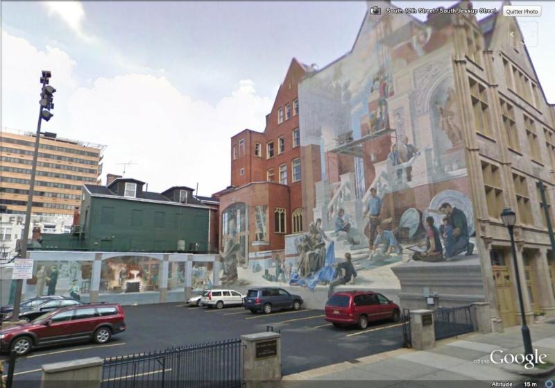 STREETVIEW : les fresques murales de Philadelphie  - Page 4 Buildi10