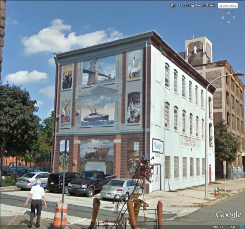STREETVIEW : les fresques murales de Philadelphie  - Page 5 Buildi11