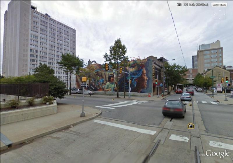 STREETVIEW : les fresques murales de Philadelphie  China10