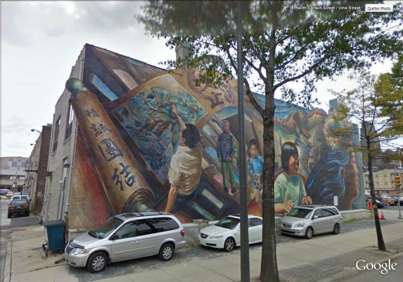 STREETVIEW : les fresques murales de Philadelphie  China_11