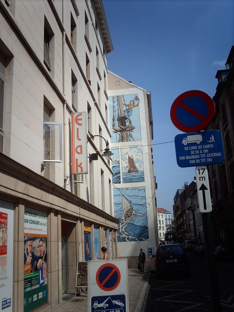 Les parcours BD de Bruxelles, Laeken et Anvers - Page 3 Cori1111