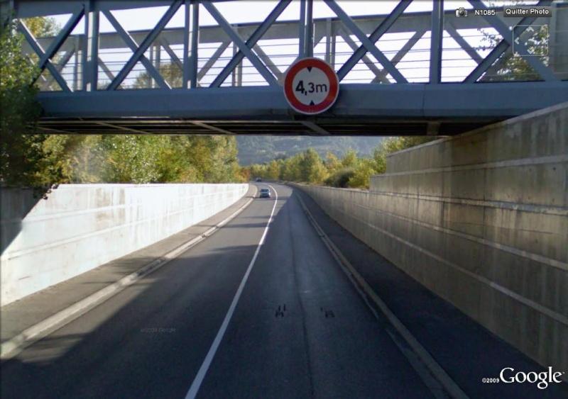 STREET VIEW : Les ponts à hauteur limitée Digne_10