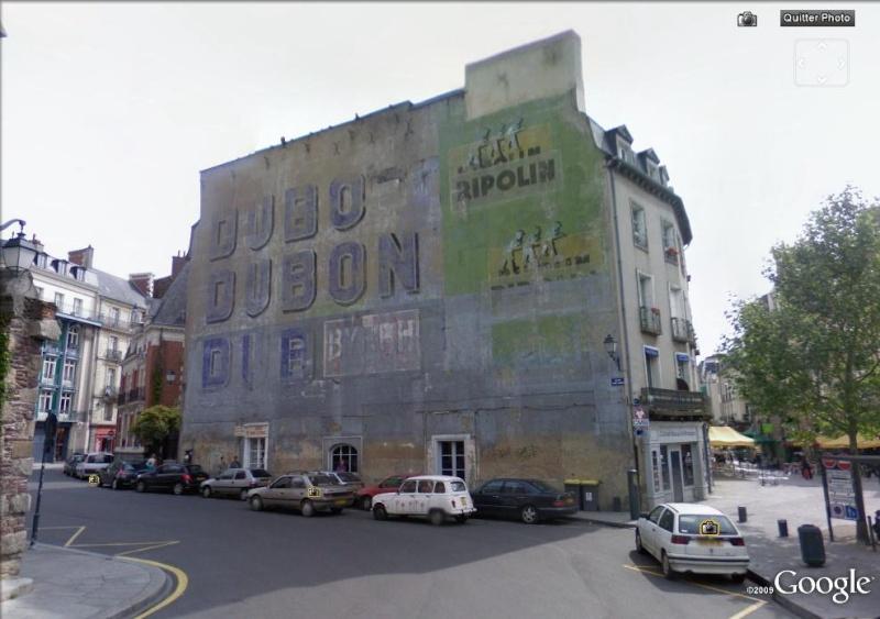 STREET VIEW : Vieilles publicités murales Dubonn11