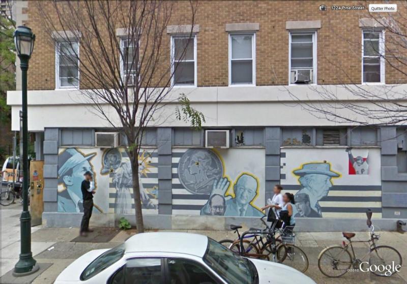 STREETVIEW : les fresques murales de Philadelphie  - Page 4 Famous13