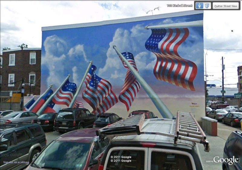 STREETVIEW : les fresques murales de Philadelphie  - Page 6 Flag_d10