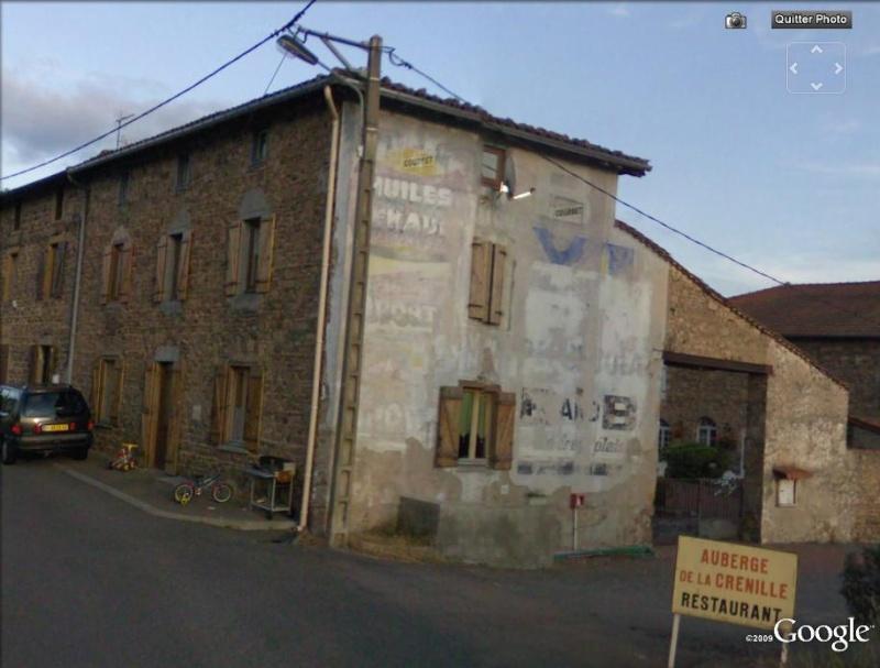 STREET VIEW : Vieilles publicités murales Fourne10
