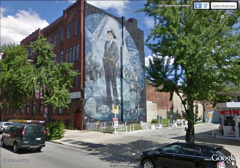 STREETVIEW : les fresques murales de Philadelphie  - Page 6 Frank_10