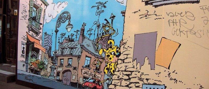 Les parcours BD de Bruxelles, Laeken et Anvers - Page 5 Franqu13