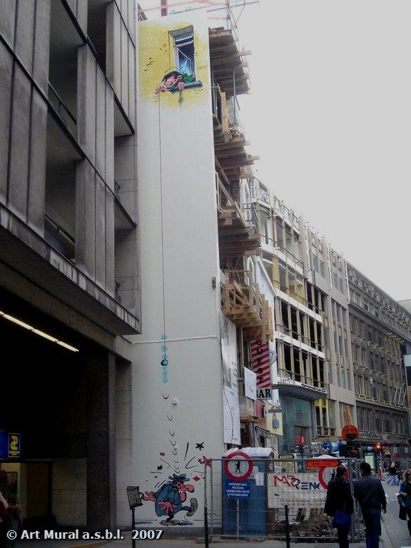 Les parcours BD de Bruxelles, Laeken et Anvers - Page 4 Gaston13