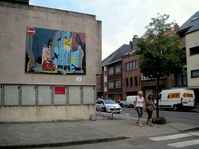 Les parcours BD de Bruxelles, Laeken et Anvers - Page 4 Gil_110