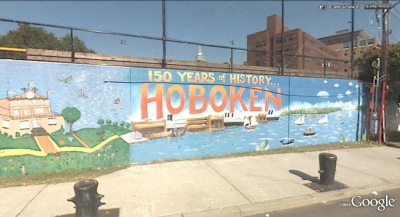 STREET VIEW : les fresques murales - MONDE (hors France) Hoboke10