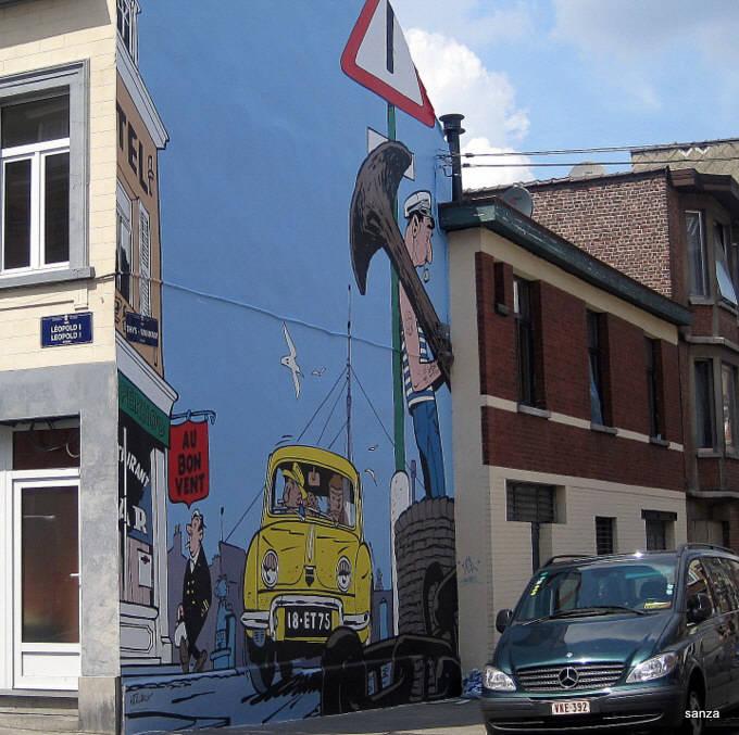 Les parcours BD de Bruxelles, Laeken et Anvers - Page 4 Jourda11
