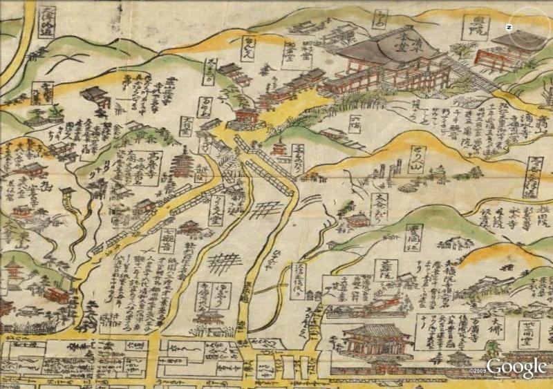 La magie des cartes historiques de Rumsey  - Page 2 Kyoto10