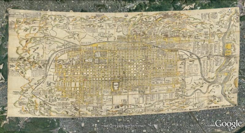 La magie des cartes historiques de Rumsey  - Page 2 Kyoto_11