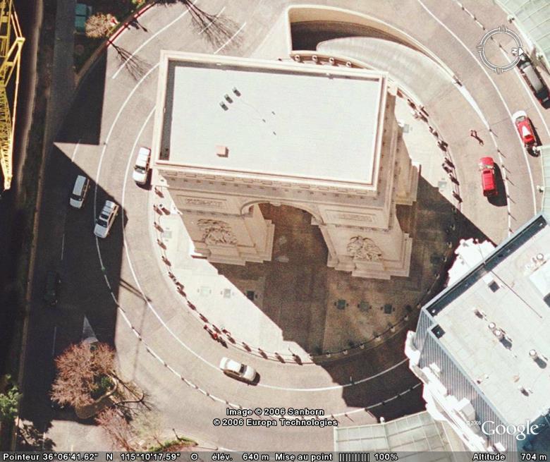 Google Earth... il y a cinq ans Lasveg10