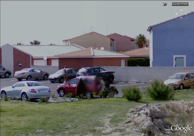 Street View : La Google cars s'égare à Village Nudiste ! Leucat10