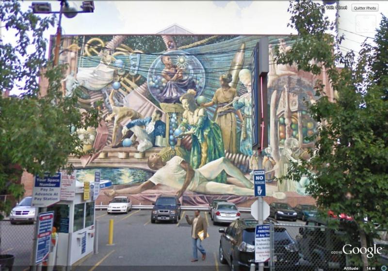 STREETVIEW : les fresques murales de Philadelphie  - Page 4 Locust10