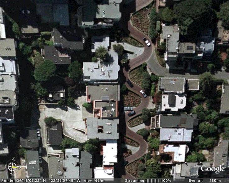 Google Earth... il y a cinq ans Lombar10