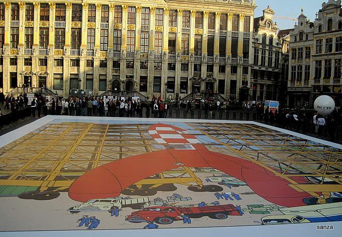 Les parcours BD de Bruxelles, Laeken et Anvers - Page 5 Lune_410