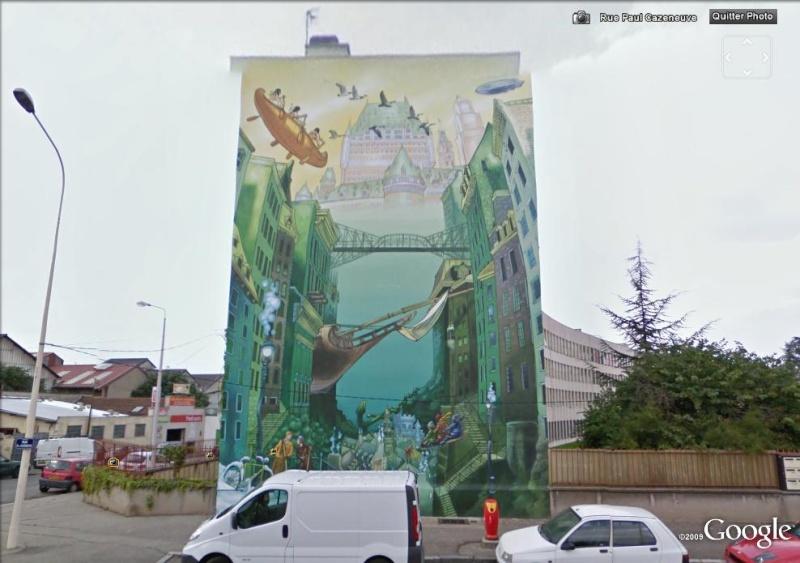 STREET VIEW : les fresques murales en France - Page 4 Lycae10
