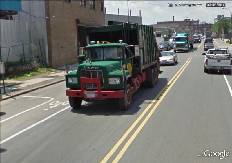 STREET VIEW : Les camions-poubelles, sujet glamour ! Mack10