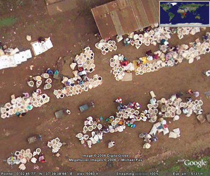 Google Earth... il y a cinq ans Marche14