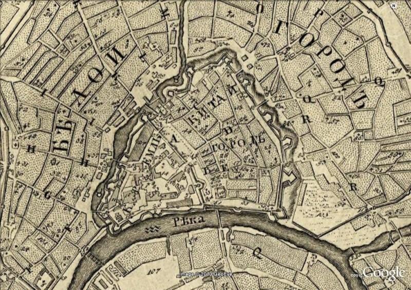 La magie des cartes historiques de Rumsey  - Page 3 Moscou10