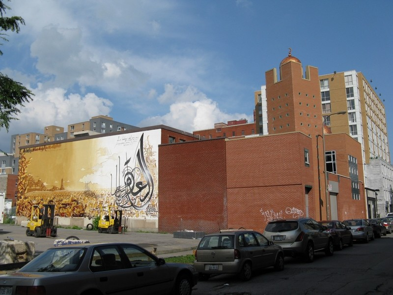 STREET VIEW : les fresques murales - MONDE (hors France) - Page 2 Mosque10