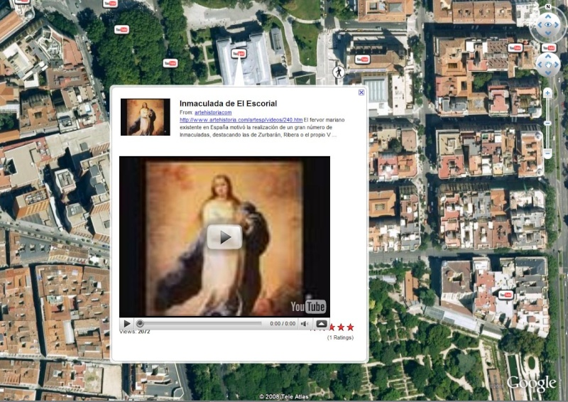 Le musée du Prado en 3D et en haute définition dans Google Earth Musae-10
