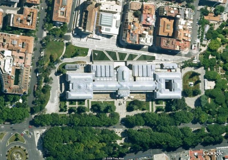 Le musée du Prado en 3D et en haute définition dans Google Earth Musae10