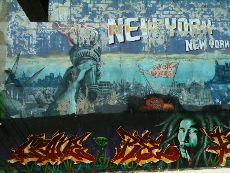 STREET VIEW : les fresques murales - MONDE (hors France) - Page 5 New-yo10