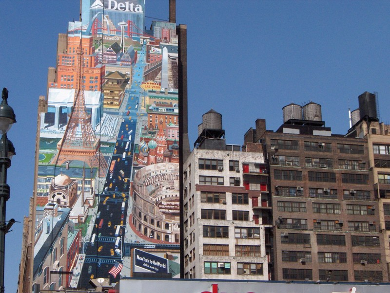 STREET VIEW : les fresques murales - MONDE (hors France) Nyy36810