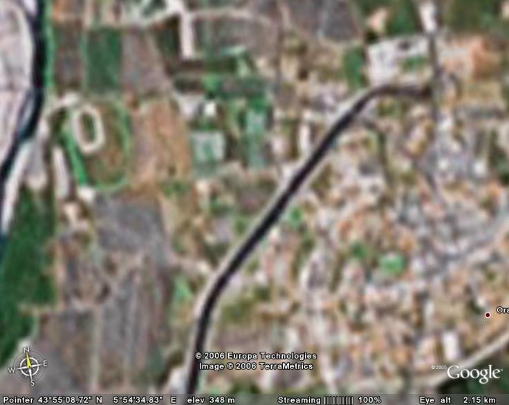 Google Earth... il y a cinq ans Oraiso10